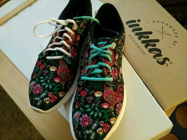 NEW Inkkas Rooster sz 10 mens,12 women's shoes