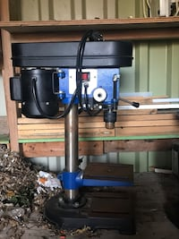 Black and blue drill press London, N6E 2B6