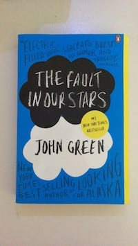 The Fault in our Stars by John Green book Fort Erie, L2A 6S5