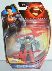 DC Superman Man of Steel Krypton Combat Superman Mattel 2013