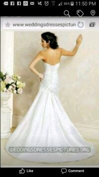 women's white wedding gown Toronto, M6E