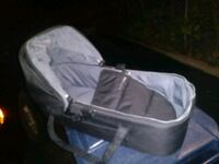 baby's gray bassinet bumble ride  Toronto, M8W