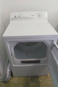 white front-load clothes washer Indianapolis, 46222