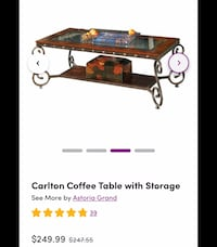 Living room table set! 4 PIECES!! CAN BE SOLD SEPERATELY