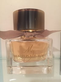 My Burberry perfume fragrance spray bottle