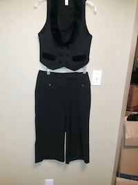 set vest velvet and slack pants Euless