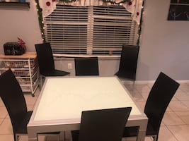 Table tempered glass