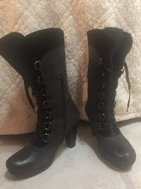 100% Genuine leather Marc boots