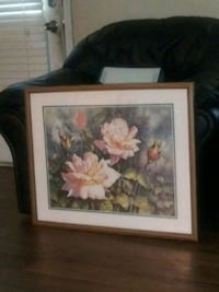 pink and white petaled flower painting Douglasville