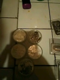 99.9 solid silver coins Sweeny, 77480