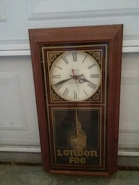 like New London Fog clock