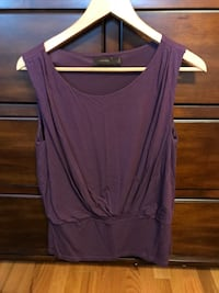 The Limited brand women top purple size L Schaumburg, 60173