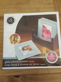 Frosted picture coasters Milton, L9T 0X1