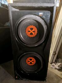 Two 12 inch Woofers in the box ( hard hitting ) Las Vegas, 89145