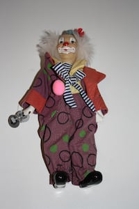 Clown collectible doll