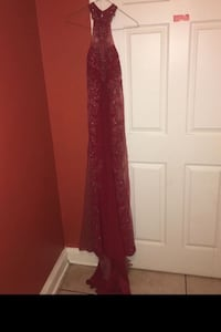 Red sparkly prom dress Temple Hills, 20748