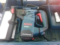 black and gray Bosch cordless power drill Charlotte, 28213