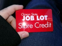 Ocean State Job Lot Gift Card 79.99 Worcester, 01604