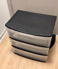 "Sterilite plastic storage Unit - 22"" x 15.5"" x 24"" Washington, 20036"