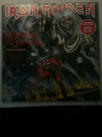 Iron Maiden Vinyl New Portland, 97219
