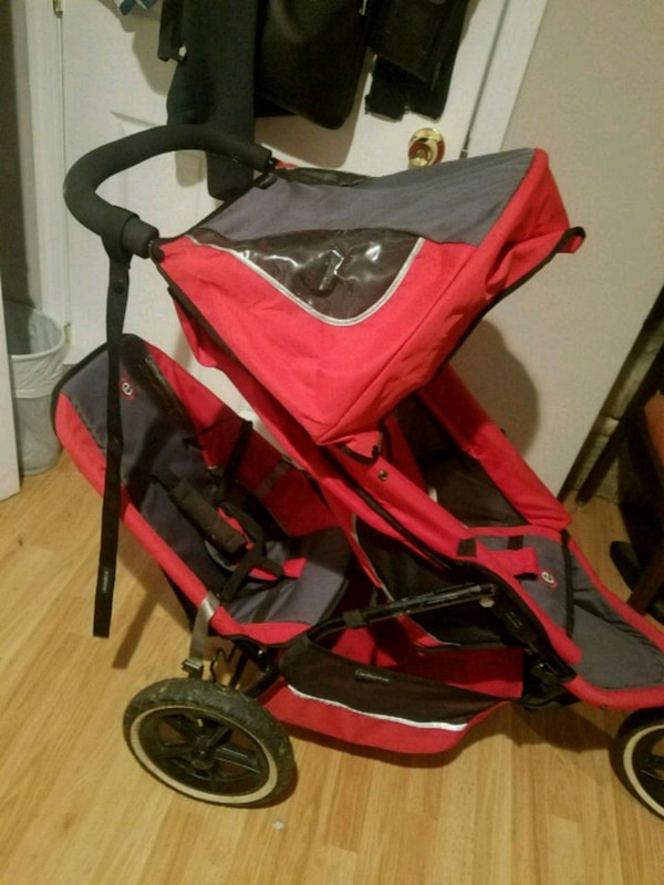 Stroller red Phill&Ted