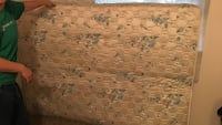 Queen mattress only one year old. Has a couple of tea stains  Spokane, 99223