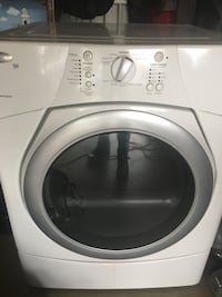 White front-load clothes dryer West Covina, 91791