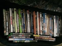 assorted DVD movie case lot Santa Rosa, 95407
