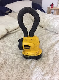 Dewalt 18v work light. Works fine. Few scuffs. Battery is almost dead but doesn't come with a charger.   Vienna, 22180