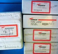 Andrew electrical connectors new in box more available Woodstock, 22664