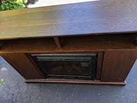 Tv stand with fireplace and cabinets  Fairfax, 22033