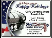auto detailing gift certificates  Rice