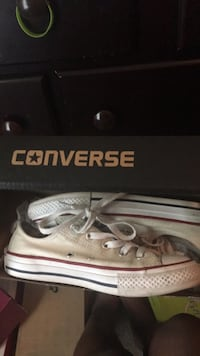 unpaired white and black Converse low-top sneaker Grovetown, 30813