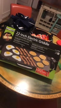 Electric griddle cooking 20$ Frederick, 21703