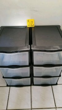 Plastics Shelves and Drawers $10 for both Tamarac