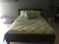 white and black floral bed comforter Los Angeles, 91331