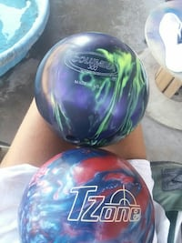 two multicolored bowling balls Fort Mohave, 86426
