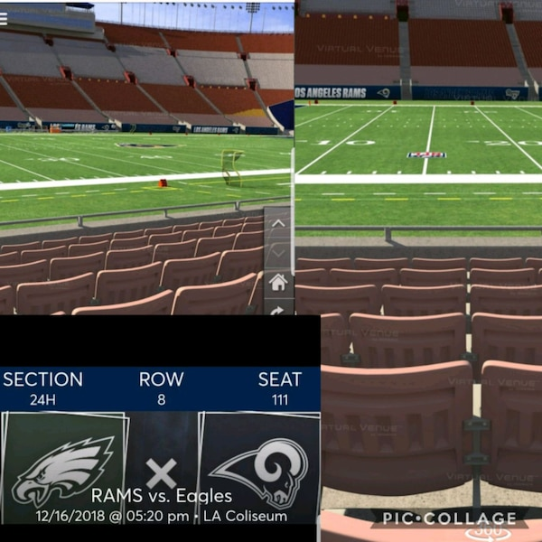 Used Rams Ticket For Sale In Anaheim Letgo