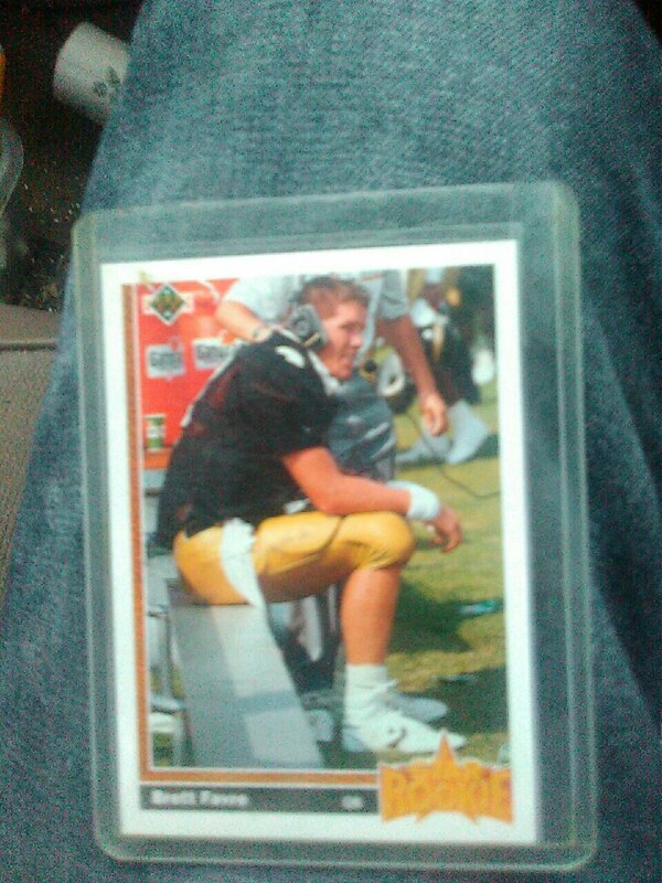 Mint condition brett favre rookie card