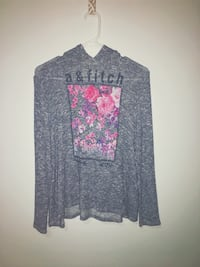 gray and pink floral long-sleeved shirt Houston, 77027