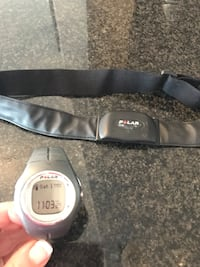 Polar heart rate monitor watch with chest strap Arlington, 22201