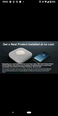 No cost Nest promotion with every protection plan. Toronto, M5M 3G3