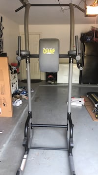 Black and gray weider exercise equipment Parker, 75094