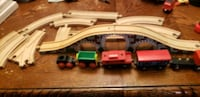 lot of wooden train tracks and trains  Stratford, N5A 2G2