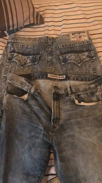 True religion and express jeans 319 mi