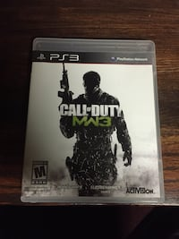 Call of Duty MW3 PS3 game case Mississauga, L4Y 3N5