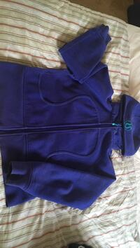 Lulu lemon purple and teal lightly used fleece hoodie Richmond, V7A 4P6