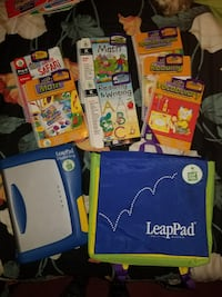 LeapPad plus writing 7book/catridges Capitol Heights, 20743