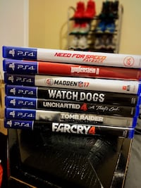 7 ps4 games (Low price)  Conyers, 30094