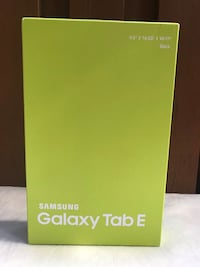 Brand New/Sealed Box: Samsung Galaxy Tablet E Silver Spring, 20895